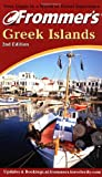 img - for Frommer's Greek Islands book / textbook / text book