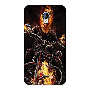 Ajay Enterprises Designer Ghost Multicolor Rider Back Case Cover for Micromax Unite 2 A106