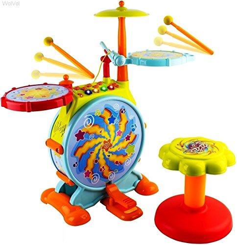 Buy Big Toy Electric Drum Set Now!
