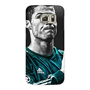 AjayEnterprises Wo Calmness Football Back Case Cover for Samsung Galaxy S6 Edge Plus
