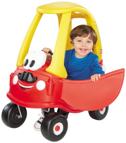 Little Tikes Mr. Cozy Coupe with Mustache, Red