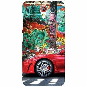 HTC Desire 620 Back Cover - Giant Designer Cases