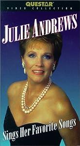 Julie Andrews Sings Her Favorite Songs [VHS]