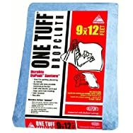 Trimaco LLC 90019 One Tuff Drop CLoth-9X12 ONE TUFF DROPCLOTH