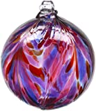 Kitras 6-Inch Feather Ball, Berry (Discontinued by Manufacturer)