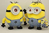 Despicable Me 2 Stewart and Dave Minion Mini Plush Doll Toys