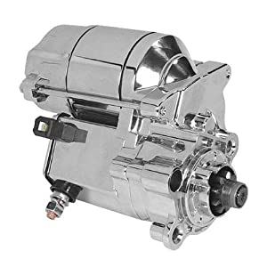 Arrowhead 1.2kw Starter Motor - Chrome SHD0006-C by Arrowhead