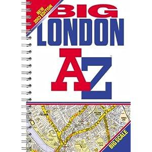 Big London a-Z (Street Atlas) Geographers' A-Z Map Company