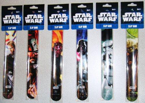 Star Wars Slap Bands Set 5 Piece (Random styles)