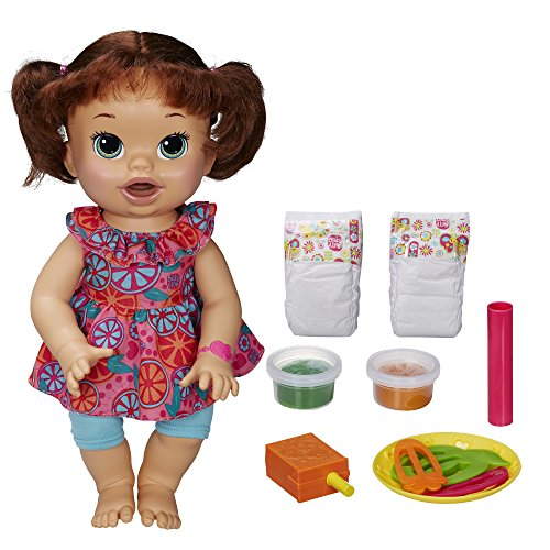 Baby Alive Super Snacks Snackin' Sara Brunette (Baby Food Cheap compare prices)
