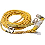 Guardian Fall Protection 01320 VLA-50 Yellow Poly Steel Vertical Lifeline Assembly, 50-Foot
