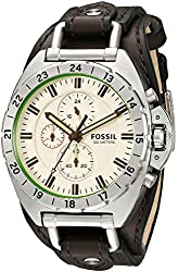 Fossil Men's CH3004 Breaker All-Terrain Chronograph Leather Watch - Brown