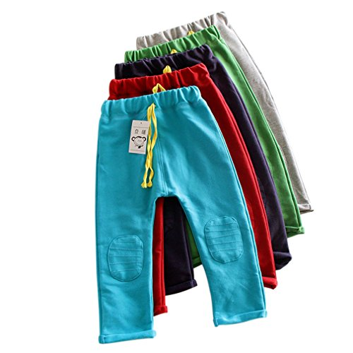 Kubee Baby 2-7T Kids Autumn Cotton Pants Child Boy Girl Sport Trousers Clothing