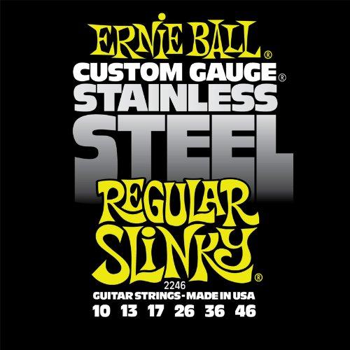 Ernie Ball 2246 Regular Slinky Stainless Steel Set (10 - 46)