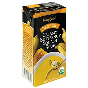 Imagine Organic Soup, Creamy Butternut Squash Soup, 16-Ounce Boxes (Pack of 12)
