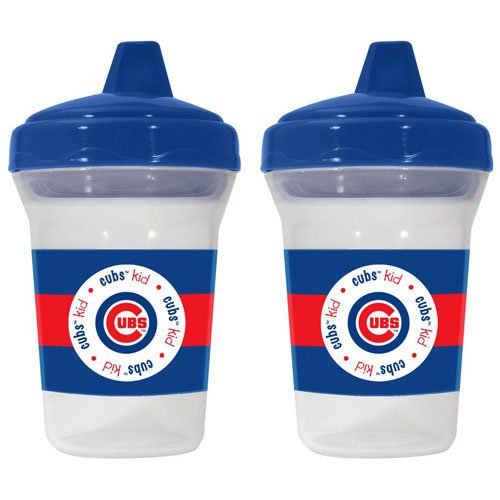 Chicago Cubs Sippy Cup 2-Pack by Baby Fanatic (Set of 2) at Amazon.com