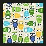 BabyHawk Mei Tai Baby Carrier - Zoo Hoot Blue