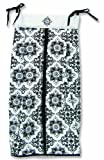 Trend Lab Versailles Black and White Diaper Stacker