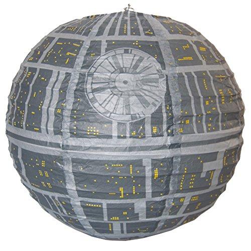 star wars suspension luminaire etoile de la mort 30 cm star wars addict. Black Bedroom Furniture Sets. Home Design Ideas