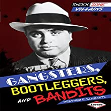 Gangsters, Bootleggers, and Bandits Audiobook by Heather E. Schwartz Narrated by  Book Buddy Digital Media