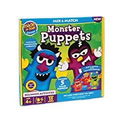 Made By Me Junior Monster Puppets