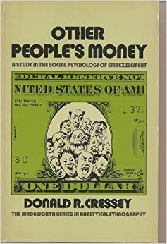 an analysis of the movie other peoples money Other people's money and how the bankers use it is a collection of essays  written by louis brandeis published as a book in 1914 the book attacked the  use of.