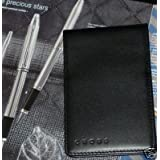 Luxury black leather 3x5 genuine new cross jotter pad.New Cross Leather Jotter is perfect for a quick reminder,notes, or a brain surge.The item is finely crafted with full-grain leather. ~ Cross