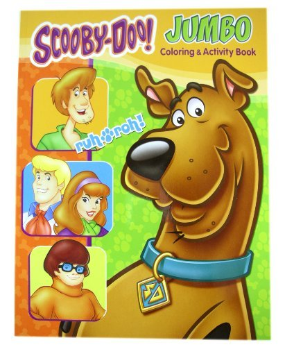 Scooby Doo Activity Book - Scooby Doo Jumbo Coloring And Activity Book (1 Book)