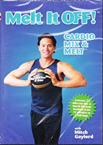 Amazon Com Melt It Off With Mitch Gaylord Cardio Mix