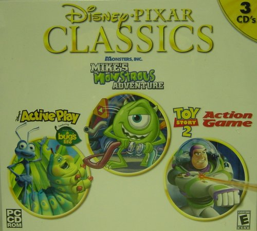 Disney Pixar Classics A Bugs Life/Monstrous Adventures/Toy Story 2