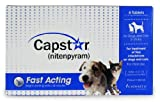 Novartis Capstar Flea Treatment Blue Tabs for Dogs and Cats,nitenpyram,2-25lbs