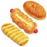 マザーガーデン おままごと やわらか パン 3個セット ウインナーパン・コーンパン・カレーパン