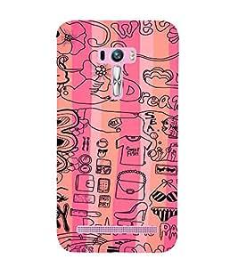 EPICCASE Fashion Case Mobile Back Case Cover For Asus Zenfone Selfie (Designer Case)