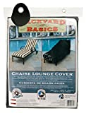 Backyard Basics 07212BB Chaise Lounge Cover, 76-Inch by 28-Inch by 30-Inch