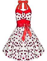 Zarlena Rockabilly 50er Polka Dots Punkte Kleid in mehreren Farben und Größen 34 36 38 40 42 44 46
