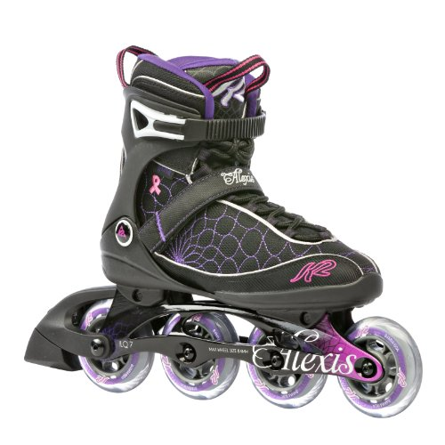 K2 Sports Women's Alexis Fitness 2012 Inline Skates (Black/Pink/Purple, 8)
