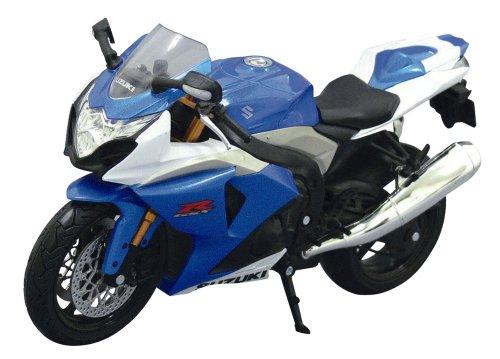 1/12 完成品バイク SUZUKI GSX R1000 (ブルー)