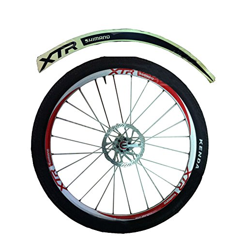 [Black]Unique Colour Xtr 12 Pics Cool Bike Rim Sticker Wheel Decal Sticker front-341535
