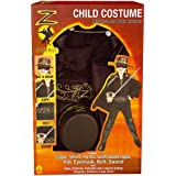 Rubie'S - Costumes  - Panoplie Luxe Zorro- Taille Mpar Rubies