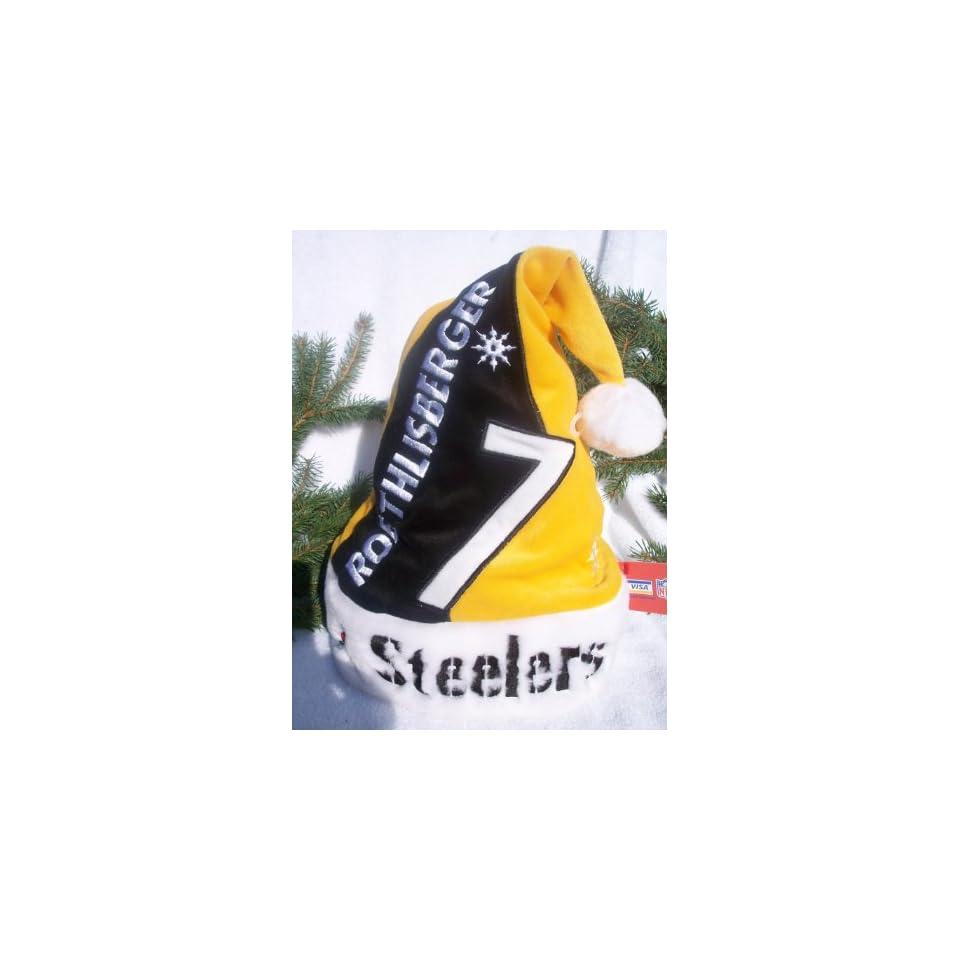 Pittsburgh Steelers NFL Logo plush Santa Hat on PopScreen b51d867f7