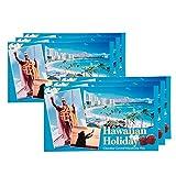 ハワイお土産 ハワイアンホリデー マカデミアナッツ チョコレート ドルフィン紙袋付き 6箱セット