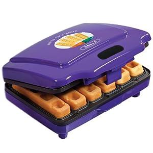 BELLA 13575 Waffle Stick Maker, Purple