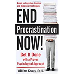 Learn more about the book, End Procrastination Now! Get It Done with a Proven Psychological Approach