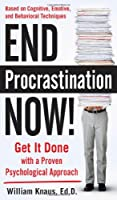 End Procrastination Now! Front Cover