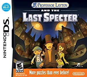 Professor Layton and The Last Specter - Nintendo DS Standard Edition
