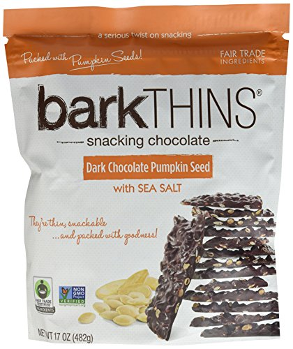 Ripple Bark Thins Snacking Dark Chocolate Pumpkin Seed with Sea Salt ...