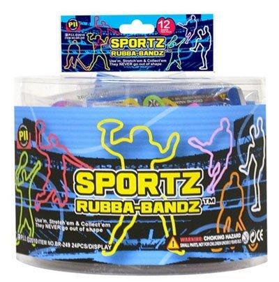 Sports-Players-Hockey-Football-Baseball-Rubba-Bandz-Rubber-Bands-Bracelets-Wristbands