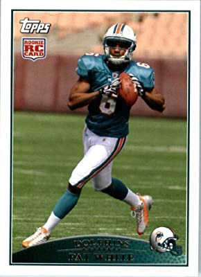 2009 Topps NFL Football ROOKIE Card #365 Pat White Miami Dolphins (RC) NFL Trading Card