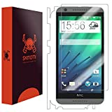 Skinomi® TechSkin - HTC Desire 620 Screen Protector + Full Body Skin Protector with Free Lifetime Replacement Warranty / Front & Back Premium HD Clear Film / Ultra High Definition Invisible and Anti-Bubble Crystal Shield - Retail Packaging