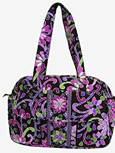 vera bradley baby bag diaper purple punch diaper tote bags baby. Black Bedroom Furniture Sets. Home Design Ideas